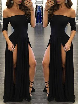 long dress woman fashion female elegant sexy night