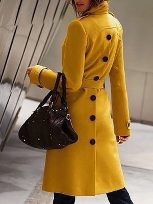 coat warm jacket comfortable modern fashion autumn winter woman