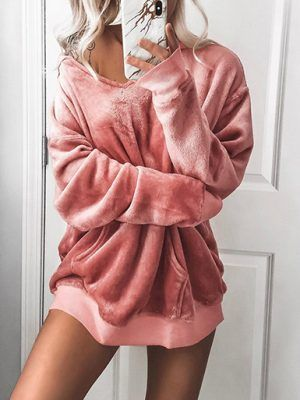 Autumn winter sweatshirt female fashion 2019 stylish printed outerwear
